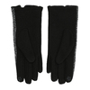 Ladies' Gloves with Bow, black , 909-6615 - 16