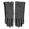 Ladies' Gloves with Bow bata, black , 909-6615 - 26