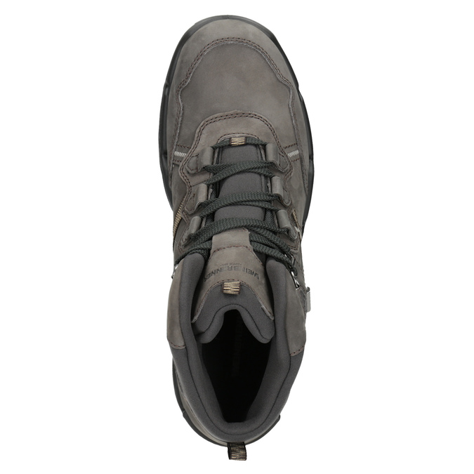 Outdoor-Style Leather Shoes weinbrenner, gray , 896-2671 - 15