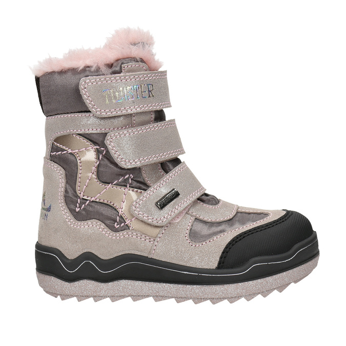 Pink Girls' Winter Boots mini-b, 299-5613 - 15