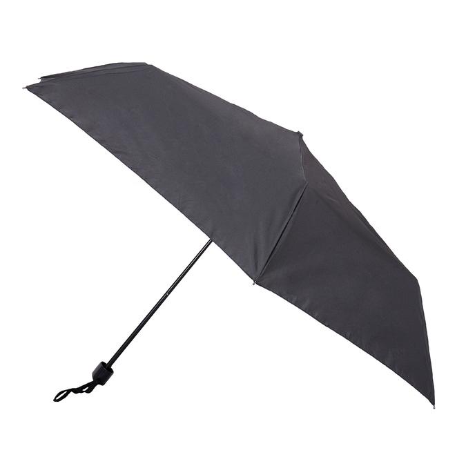 Black folding umbrella doppler, black , 909-6659 - 13
