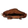 Ladies' Leather Handbag bata, brown , 964-3245 - 15