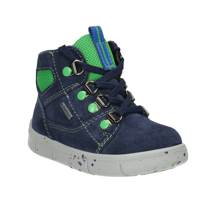 Children's ankle boots superfit, blue , 113-9029 - 13