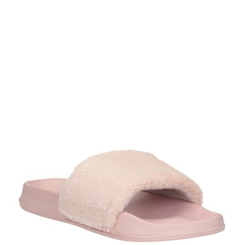 Ladies' pink slippers north-star, pink , 579-5624 - 13