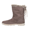 Ladies' winter boots with artificial fur weinbrenner, brown , 596-4334 - 15