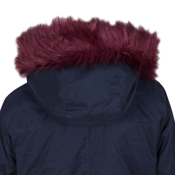 Ladies' Parka with Removable Fur bata, blue , 979-9131 - 15