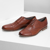 Brown leather Oxford shoes vagabond, brown , 824-3048 - 16