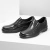 Men's leather moccasins pinosos, black , 814-6622 - 16