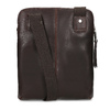 Leather crossbody bag, brown , 964-4237 - 16