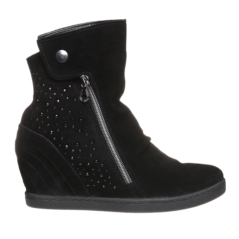 The Winnie Wedged Boot, black , 2018-793-6253 - 26