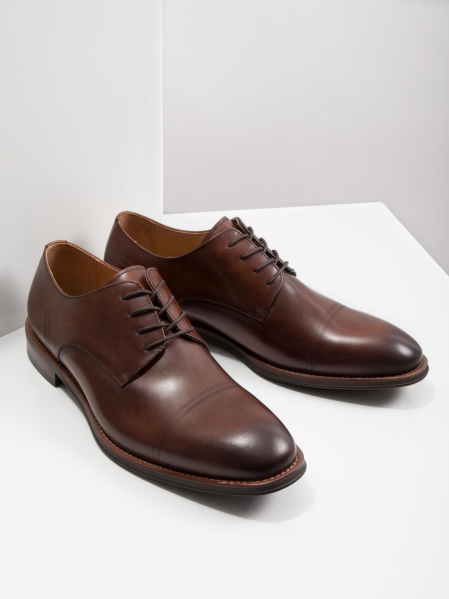 18cb55dc73 ... Men  39 s brown leather shoes bata